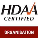 HDAA certification logo