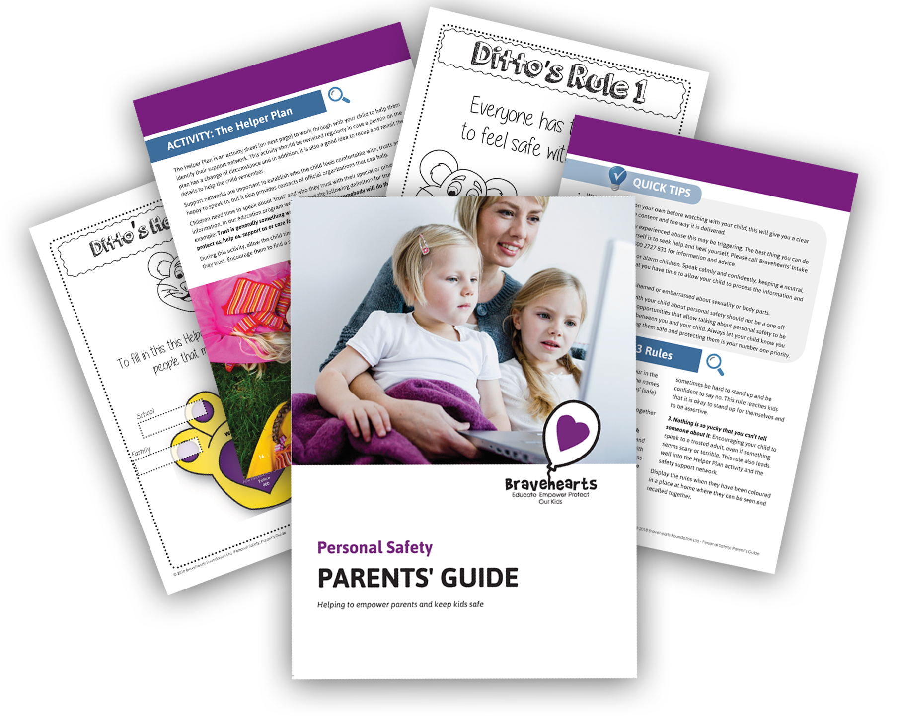 Personal Safety Parents and Carers Guide   Bravehearts