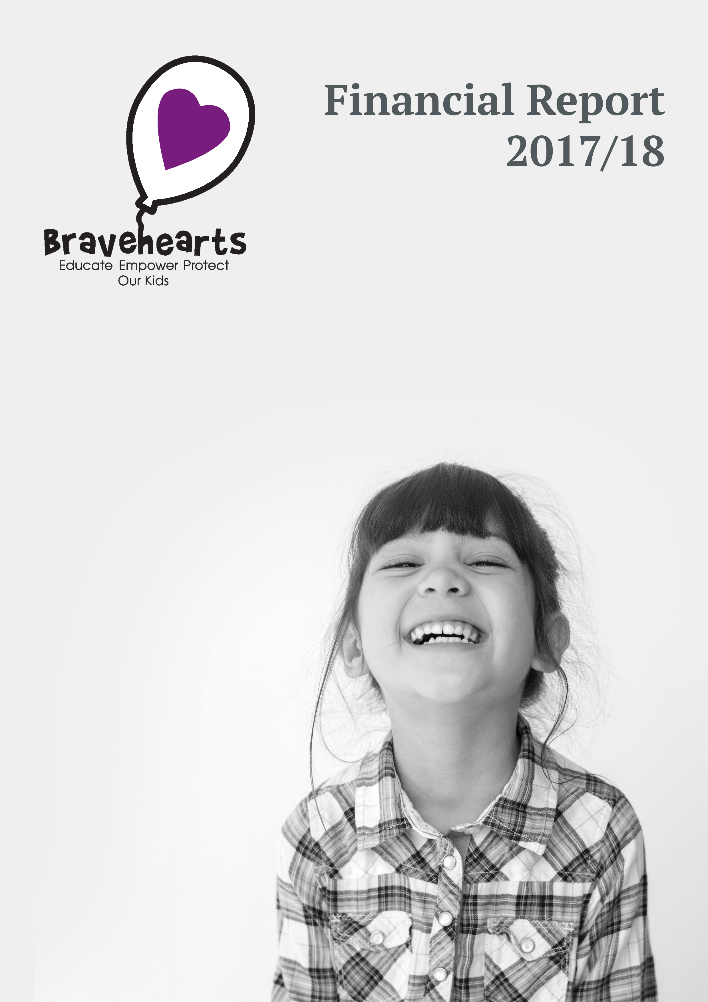 financial report cover bravehearts