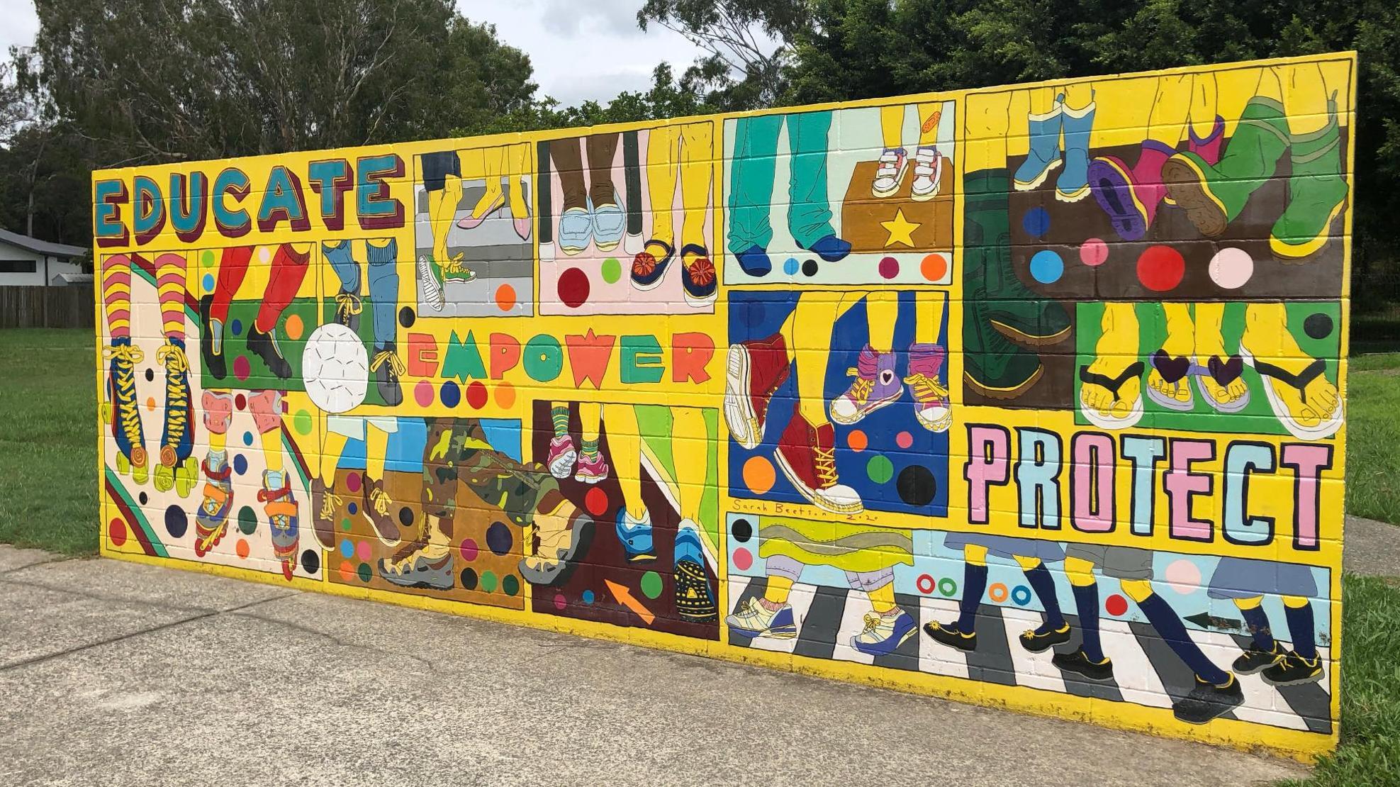 bravehearts mural